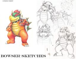 Bowser Sketches by Gneiss-chert