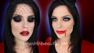The Bride Of Dracula Vampire Halloween Makeup  by smashinbeauty