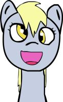 Flash Drawing: Adorable Derpy by darksoma905