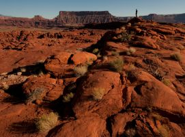 Hiking Near Moab by jamezevanz