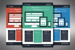 Flat Design Web Agency Flyer by xstortionist