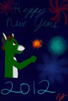 Happy New Years Michael by AuraMaster-Lucario