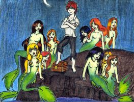 Peter and the Mermaids by Bates1122