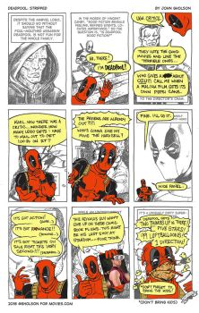 Deadpool: Stripped by gholson