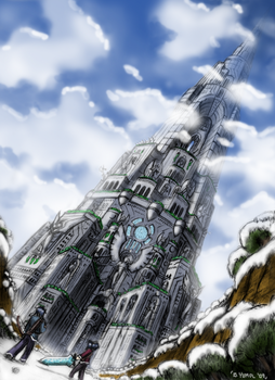 The Tower of Souls by JIHAUS