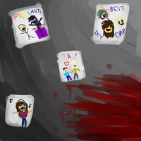 Five Nights at Cassy's (The Children's Drawings) by violetandblaire