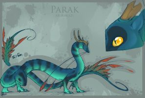 Character Sheet: Parak by zilowar