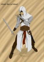 Altair  - Fight and fate -Finished- by jaderotaski