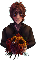 Flower Boy by almondowls