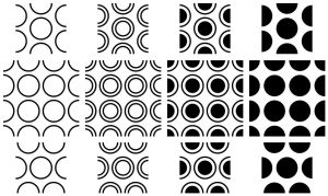 Circles Patterns by wuestenbrand