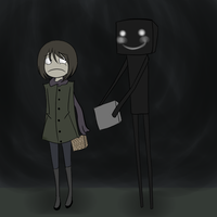 EnderMan OSHI- by TaffyToots