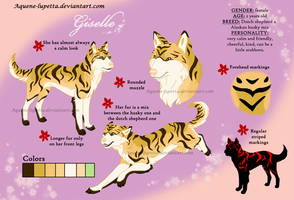 Giselle_Character-sheet by Aquene-lupetta