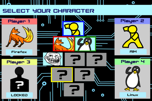 Character Select Screen by iDetectiv