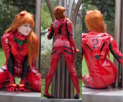 Asuka Langley Soryu: 3 Way by MaryjaneDesignStudio