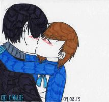 Passionate Kiss by Ciel-X-Malice