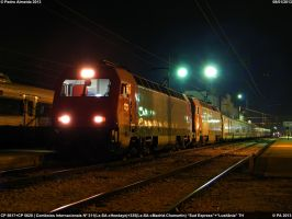 CP 5617+CP 5620 IN311+335 ENT 080113 by Comboio-Bolt