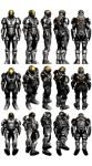 Mass Effect 3, MP Cerberus Adept Ref. by Troodon80