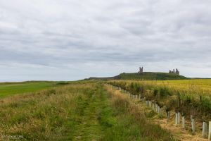 Approaching Dunstanburgh Castle by CyclicalCore
