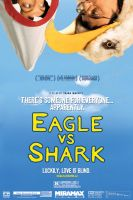 Anthony Eagle vs Shark Poster by grafikdzine