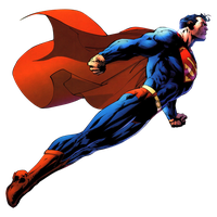 Superman flying by JayC79