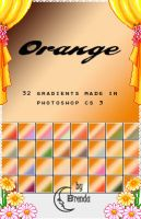 Orange Gradients by Coby17