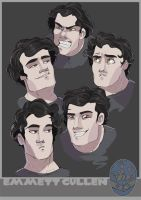 emmett faces by Awkwardly-Social