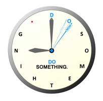 'Do something' clock concept by najirs-s