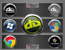 jSerlinArt          Chromium Icon Pack by jSerlinArt