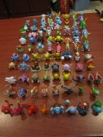 My Pokemon Tomy Collection by ImNotParanoid