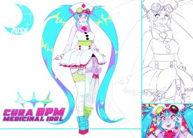 Adoptable Auction #11: Cura BPM [SOLD] by Galactic-Rush