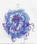 razor-blade jellyfish by sweetsour