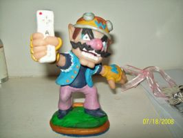 It's a me Wario by superclayartist