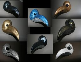 Plague Doctor Masks by MadSebby