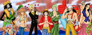 New World Straw Hat Pirates by Ferchozaki