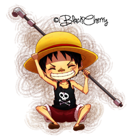 Luffy child ver. by iBlackCherry