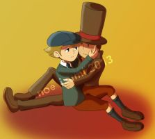 commission: Layton x Clive by Noe-Izumi