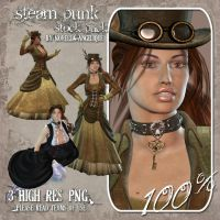 STOCK - SteamPunk by NorellaAngelique