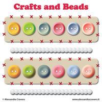 Craft, Buttons and Beads by LaAlex