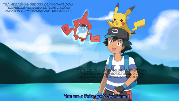 The New Pokedex by TrainerAshandRed35