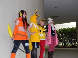 Electric Pokemon Trainer - ACen 2013 by EndOfGreatness