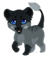 Kainaa Commission Chibi - Orco by PoonieFox