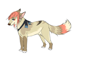 Sketchy simple design commission by Capukat