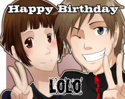 Happy Birthday Lolo by Abby-desu