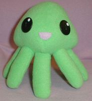 Squiddle Plush by AmberTDD