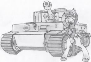 Achtung, Panzer! by ScotchMacManus