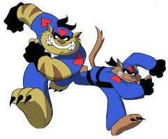 Swat Kats by advancedflea