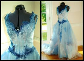Emily's Dress (Corpse Bride) by AliceinIvory