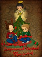 Merry Supernatural Christmas by skart2005