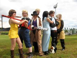 FF8: Group Shot by mistressmelia