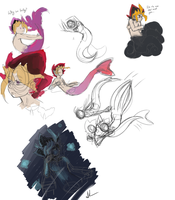 Fishy Doodles by Shamise